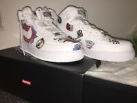Supreme x Nike x NBA Air Force 1 - Size 8 UK