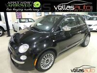 2012 Fiat 500C LOUNGE CONVERTIBLE AUTOMATIC