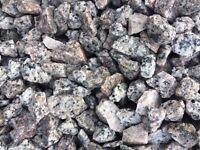 granite stone/chips only £75 per bulk bag