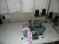 4 Thread Willcox and Gibbs 500 Industrial Overlocker Machine