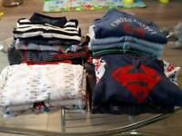 Bundle Of Baby Boys Clothes