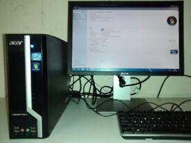 Acer Veriton X4610G - i3 2120, 4GB RAM. 500GB HDD