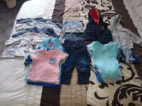 *Bandle 3-6 months boys clothes*