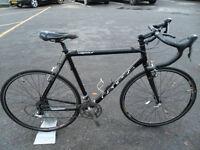 Genesis Vapour Cross/Winter Bike Carbon Forks & Seatpost New Tyres & Chain 58cm