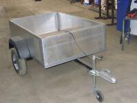 aluminium trailer 5ft x 3ft 6ins
