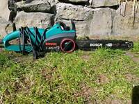 SOLD SOLDBOSCH ELECTRIC CHAINSAW