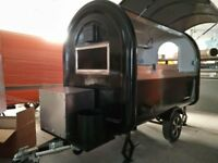 Mobile Catering Trailer Burger Van Ready to Work