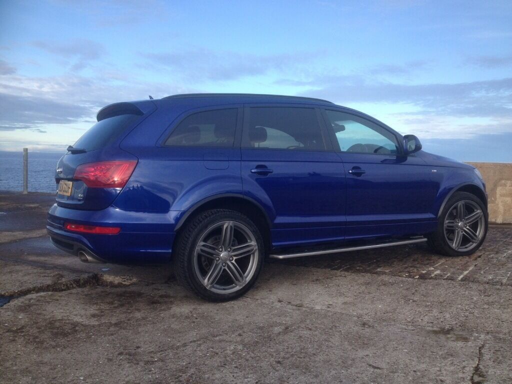 2013 Audi Q7 S Line Plus Rare Mica Racing Blue In