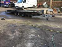 BRIAN JAMES TRAILERS 16 ft tilt bed 2009