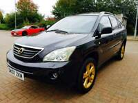 Lexus RX 400h 3.3 SE CVT 5dr FULL SERVICE HISTORY, SAT NAV BEIGE LEATHER 1 FORMER KEEPER FROM NEW