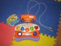 Vtech V. Smile Baby -2 Games! Infant Learning System