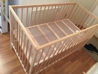 Ikea baby cot - £15