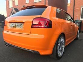 Audi s3 RARE SOLAR ORANGE
