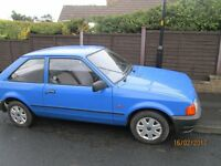ford escort 1.1 bonus 3dr car still for sale 25th feb