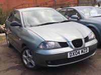 Seat Ibiza 1.2 SX 2004 + FULL SERVICE HISTORY + 12 MONTHS MOT + LOW MILES