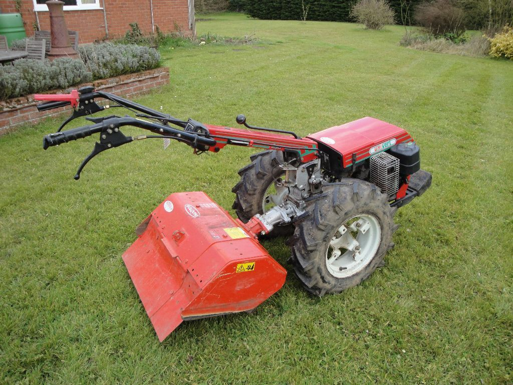To Two Wheel Tractor Rototiller : Goldoni two wheeled tractor with powered rotavator