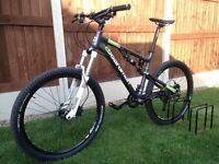 C Boardman Team FS Mountain Bike, RockShox, Avid, SRAM, Mavic