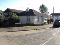 HOCKLEY ESSEX SHORT TERM LET ONLY (3 MONTHS) IDETACHED 2 BEDROOM BUNGALOW 2 RECEPTION ROOMS DRIVEWAY