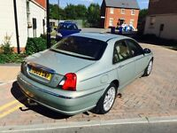 Nice family car rover 75 automatic full leather seat in perfect condition run and drive perfect