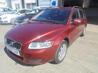 VOLVO V50 1.6D S (red) 2008