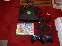 Original Xbox plus controllers and games