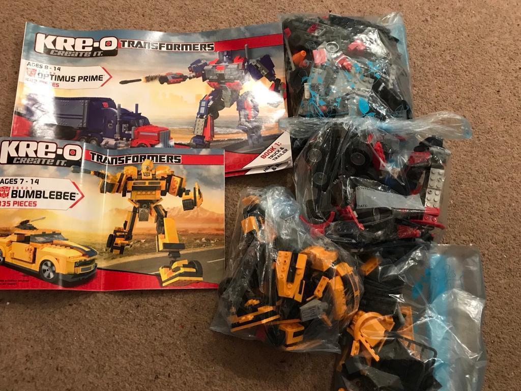 Kre O Transformers Sets Optimus Prime 30689 542 Pieces