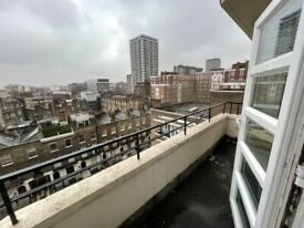 2 Bedroom Modern Flat in Marble Arch Secure entry -24/7 porterage - 2 Bathroom - Private Balcony