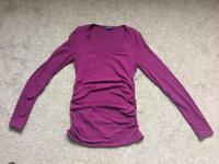 Isabella Olivier size 2 maternity top