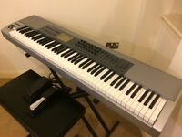 Keyboard M-Audio Keystation 88 Keys Midi Controller with Stand, stool & pedals. Urgent. ONO