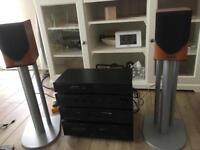Hifi Denon , stereo system