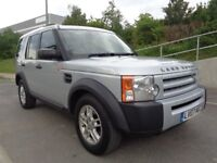 2007 LAND ROVER DISCOVERY 3 , AUTOMATIC DIESEL LOW MILES, FSH, 7 SEATER , 3 M...