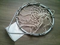 metal basketball hoop