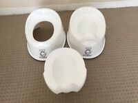 Baby bjorn smart potty white x 2