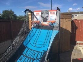 Basketball game. Arcade style.