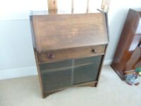 1950s/60s DARK WOOD WRITING DESK/BUREAU