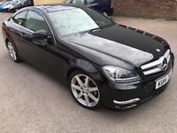 Mercedes-Benz C Class 2.1 C220 CDI AMG Sport (Premium+Pack) 7G-Tronic Plus 2dr PAN ROOF REV CAMERA