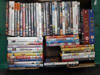 job lot of 54 dvds