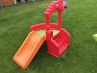Little Tikes climb and slide playhoise