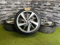 18'' Genuine Seat Leon Fr Limited Edition Mk3 Performance Alloy Wheels Tyres Alloys 5X112 VW Golf