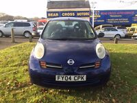2004 NISSAN MICRA S AUTOMATIC BLUE