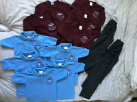 Complete School Uniform for Boys Age 3/4 - With LOGO of St Philip's Catholic School LEEDS