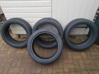 4 Matching Winter Pirreli tyres 225/45 R18 91H Sottozero