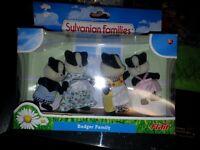 sylvanain familes badger family