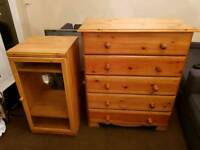 Chest of drawers and unite