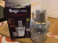 Brand new Sage by Heston Blumenthal Nutri Juicer Compact. Rrp £110