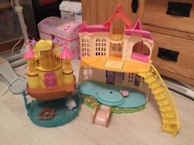 Sofia the first princess castle and mermaid boat