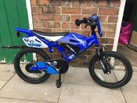 "Boys 12"" mock motorbike bike"