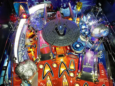 Star Trek Stern Pinball Machine Mod  Vengeance shield visor Into the darkness
