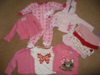 12 baby girl's items for sale