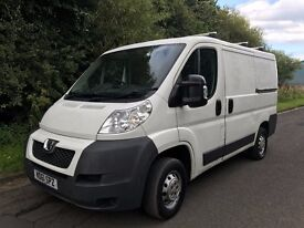 2011 (61) Peugeot Boxer 2.2 330 SWB, ONE OWNER FROM NEW, READY TO GO TO WORK.